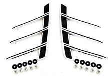 NEW! 1966 Mustang Chrome Quarter Panel Ornaments Pair Left and Right Side