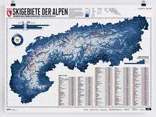 Marmota Maps - Ski Resorts of the Alps, Planokarte with 633 Skigebieten 3545