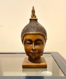 Parlane Buddha Head Statue Vietnam (Material: Large 20cm Faux Wood
