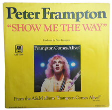 PETER FRAMPTON - Show Me The Way / Shine On PICTURE SLEEVE 1976 A&M AM-1795