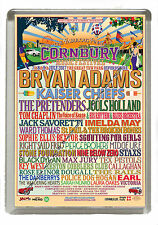 Cornbury Music Festival 2017 Last Ever Line Up  Fridge Magnet Large 90mm x 60mm