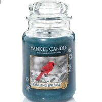 ☆☆Yankee candle☆☆  Sparkling Balsam  Large Classic Jar Candles,Fresh Scent