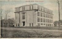 Postcard Antique RPPC Roselle Park New Jersey High School Post Card Posted 1923