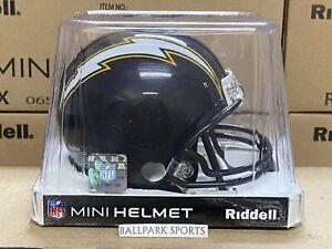 SAN DIEGO CHARGERS (1988-2006 Throwback) Riddell VSR4 Mini Helmet