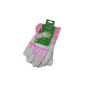 KINGFISHER Heavy Duty Ladies Leather Gardening/Work/Rigger Gloves. Extra Durable