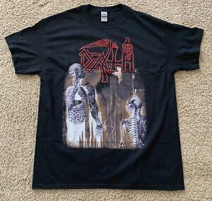 Death Human 2 Sided Shirt - Large Symbolic Leprosy