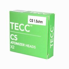 TECC CS ATOMIZER HEADS | ECIG COIL PACK | VAPING COILS | TWIN PACK VAPE COILS