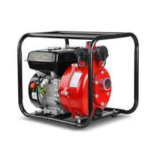 Giantz PUMPTWIN2INCHRD 8HP Twin Impeller Water Transfer Pump