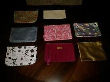 Ipsy Lot of 8 Makeup Cosmetic Travel Bags Toiletries Pouches Assorted Prints