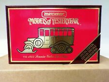 Matchbox Models Of Yesteryear 1923 Scania Vabis Post Bus