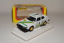 UU 1:24 BBURAGO BURAGO 9107 SAAB 900 TURBO RALLY WHITE EXCELLENT BOXED