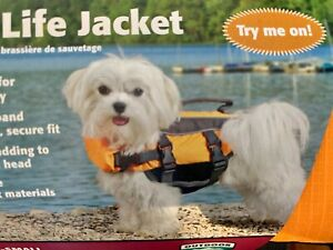 NEW in Package TOP PAW Dog Life Jacket X-Small Unisex 11-18Lbs FREE SHIPPING