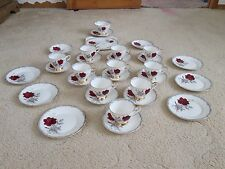 Vintage Royal Stafford Roses To Remember part Tea Set, 31x Pieces
