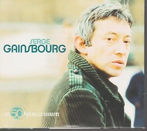 Serge Gainsbourg Les 50 Plus Belles Chansons Cd Manon Javanaise Comic Strip..