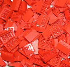 Basicsteine,Bausteine flach  in rot 1x2 Neuware 50 x LEGO® 3023City