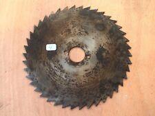 4) old tool / OUTIL lame Scie Circulaire Disque à couper  diamètre  19,5 cm