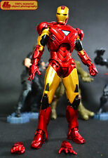 Marvel IRON MAN 3 MK6 Original DST 7 INCHES movable Action Figure Model Toy Gift