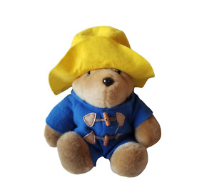 "15"" Vintage PADDINGTON BEAR Darkest Peru To London STUFFED PLUSH Eden Toys"
