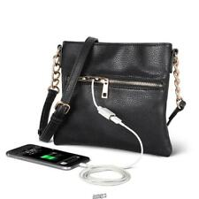 The Phone Charging Purse built-in backup battery USB Charging Station