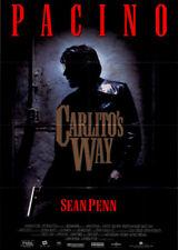 Carlito's Way ORIGINAL A1 Kinoplakat Al Pacino / Sean Penn / Brian De Palma