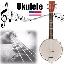 Banjolele Banjo Ukulele Ukelele Uke Concert 4 String 23 Inch Sapele Wood