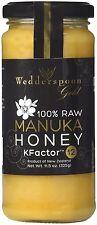 100% Raw Manuka Honey, Wedderspoon, 11.5 oz 12 Plus