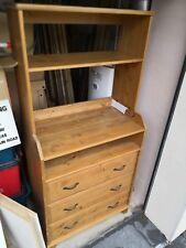 IKEA Leksvik Antique Pine Dresser Victorian Style 3 Drawers
