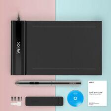 VEIKK New S640 Graphics Digital Drawing Tablet 6 x 4 inch USB 8192 levels Pen`