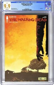 S565. WALKING DEAD #193 Image/Skybound CGC 9.9 MT (2019) LAST ISSUE; WHITE Pages