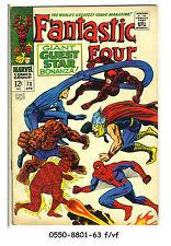 FANTASTIC FOUR #73 © 1968 Marvel Comics f