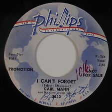 CARL MANN: I Can't Forget PHILLIPS Rockabilly 45 Super VG+