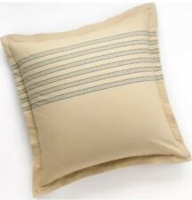 "CHAPS Home CASABLANCA Euro Pillow SHAM Size: 26 x 26"" NEW Tan Blue"
