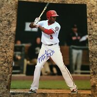 Michael Taylor Signed 8x10 Photo Autograph Washington Nationals