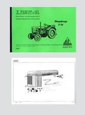 FENDT Dieselross F 24 Ersatzteilliste Schlepper Traktor