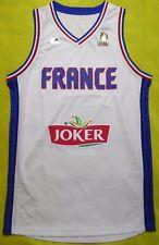 5+/5 Maillot Equipe France Basket Officiel Adidas Blanc Ai6326 Livraison Gratuit
