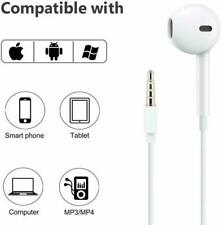 EAR PODS EARBUDS HEADPHONES,LAPTOP,TABLET,IPHONE,IPAD,ANDROID, FOR APPLE