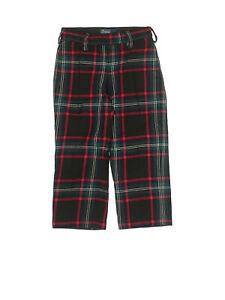 Toddler Boy Ralph Lauren Navy Blue Red Green Wool Holiday Pants Size 3T