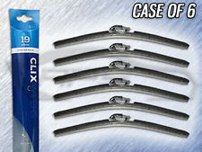 "AUTOTEX CLIX 19"" WIPER BLADE - CLIX-19 - CASE OF 6 - REPLACES IN 10 SECONDS"