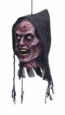 HALLOWEEN PARTY HANGING GHOST HEAD FANCY DRESS DECORATION