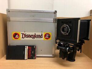 Near Mint in Case Sinar F F1 4x5 Film Camera w/ Symmar 150mm F/5.6 Lens / JPN