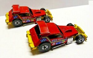 Hot Wheels Cars Lot Of 2 1978 Greased Gremlin Blackwall Tires Hong Kong