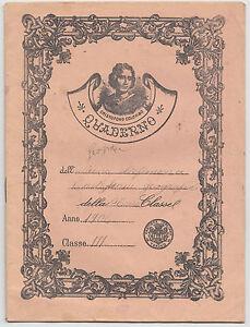 QUADERNO CRISTOFORO COLOMBO ANNI 1900 c.a.