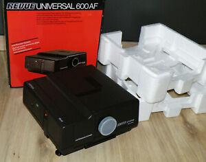 Diaprojektor Revue universal 600 AF mit Color Revuetar-S 2.8/85 made Deutschland