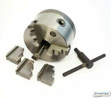 125 mm 3 Jaw Chuck Threaded 1 1/8 x 12 tpi to suit Myford