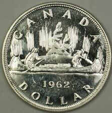 1962 Canada Silver Dollar $1 Proof Like Coin Elizabeth the Second II