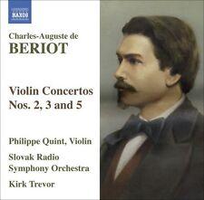Philippe Quint - Violin Concertos 2 3 & 5 [New CD]