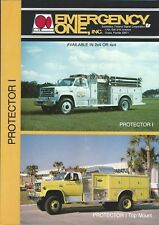 Fire Equipment Brochure - Emergency One - Protector I - Pumper Truck (DB324)
