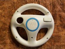 White Wii Wheel Nintendo OEM GENUINE OFFICIAL RVL-024 Mario Kart