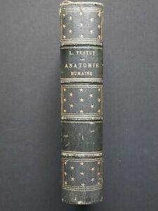 Traité d'Anatomie Humaine - Tome Premier - L. Testut - Octave Doin 1893