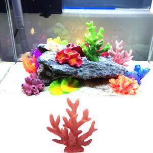 Fish Tank Landscape Simulation Coral Flower Artificial Plant Aquarium Accessory